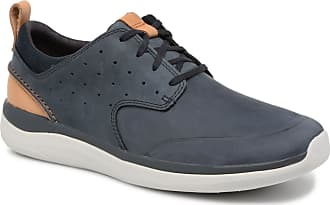 Garratt Blauw Clarks Lace Sneakers Heren Voor 4wUd8Tq8