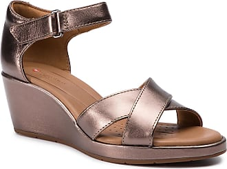 Metalic Cross Sandalias Un Clarks 261423084 Plaza Pebble TqzOxw8Y
