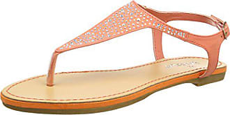 Beads Sandals salmon 39 With Femme Tantra Rose Sandales Eq1CI