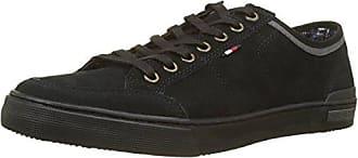Negro Sneaker black Core Tommy Lace Zapatillas Suede 990 Up 41 Hilfiger Hombre Eu Para aXvzqvU