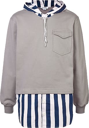 À Design Sunnei Gris Superposé Sweat ABxFfqdf