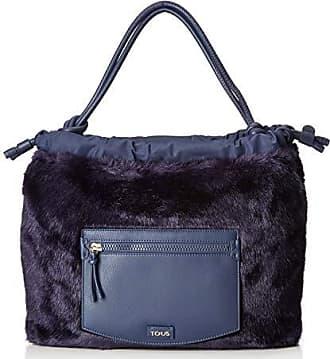 Cm Tous Doromy Mujer w Saca 8x35x39 Para H X Bolso L azul Shopper B1w8Baq