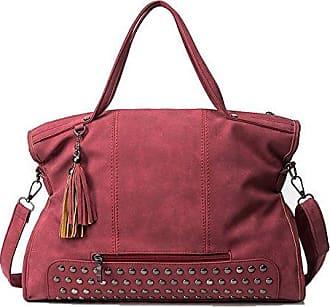 Handtaschen Mode Alltag Pu Womens Umhängetaschen Rot Allhqfashion gw1qfX1