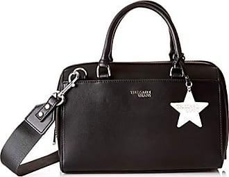 L X LogoSac Porté H easy FemmeNoirblack30x20x16 Trussardi T Star Bauletto Cmw Charm Main Pn0wOk