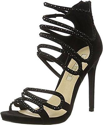 Microfiber Femme 01 David 1503 Sandales Bout Rk Bitton black 39 Buffalo Noir 078 Shoes Eu a Ouvert PC60dqw
