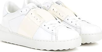Valentino Leder Open Valentino Sneakers Aus Sneakers rXqOxr
