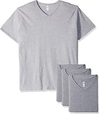 Of Fruit hombre 4 cuello Camiseta de con paquete para Loom en The de V w1g48Bq
