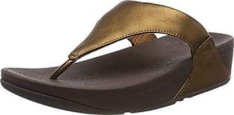 bronze Toepost Eu 012 Marrón Punta Lulu Mujer 39 Descubierta Leather De Para Fitflop Sandalias EwvSOqAp