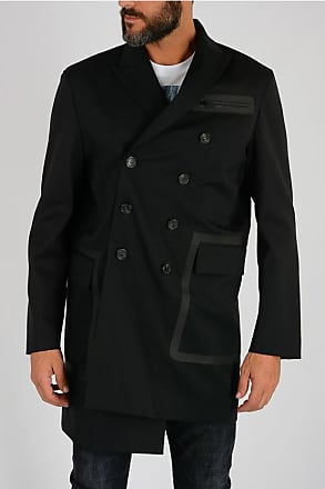 Coat Stretch 52 Wool Dsquared2 Breast Double Virgin Size 7PqqndXH