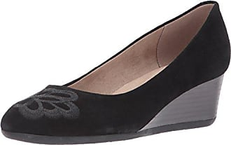 Black Spirit M Pump 9 Suede Easy Womens Wedge Us Larcie w6Unn1Rq