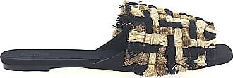 Sanayi Pantoletten Textil 313 Schwarz 112875 Geflochten UUnxprw