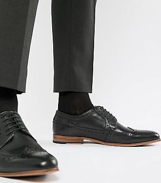 Semelle En Cuir Naturelle Asos Noir Avec Chaussures Richelieu wqSnxtXE