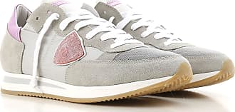 Model Sale On 2017 Nylon Philippe Women 41 Sneakers Grey For 36 RdwdAFXxq