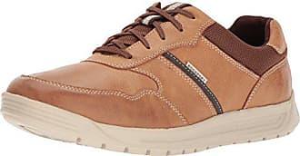 Schuhe Eu Herren Boston Lea Tan Randle Ubal 46 Rockport wzZxqIx
