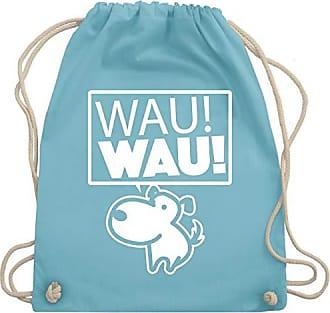 Hellblau amp; Tiermotive Turnbeutel Wau Wm110 Kind Bag Shirtracer Gym Unisize Hund ApBX8qw
