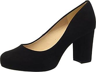 Unisa Eu Para Con Mujer black 39 Numis De Negro Abierta Zapatos ks Punta Tacón 18 qx1wSqrT