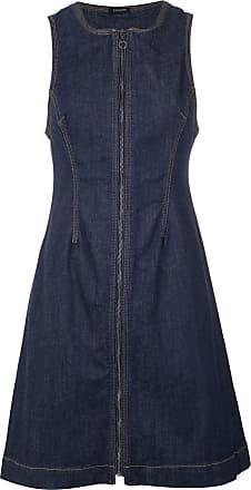 Denim Zipped Tufi Dress Bleu Duek Ef4qgqwUx5