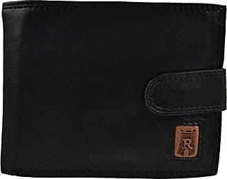 Rindsleder Herren Sammlung Falttasche Schwarz Rembrandt Rowallan Registern Geschenkverpackung In Leder FdR5qBx