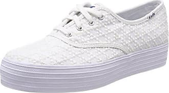 10 Keds Embroidered Triangle Eu Tpl Mujer Para Blanco 39 Zapatillas White pp8qrw5Ux