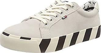 ice 37 Femme Sneakers Denim Eu 101 Basses Suede Jeans Tommy Blanc Sneaker Hilfiger wOqz4P4