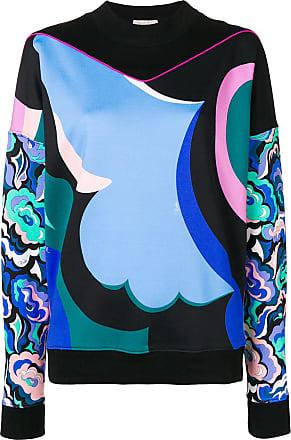 Print Sweatshirt Bleu Abstract Emilio Pucci EFqwxU