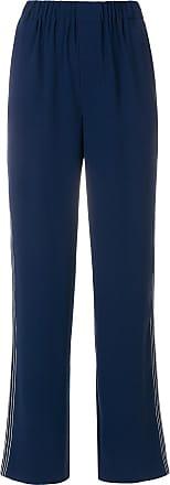 Bleu stripe Steffen Schraut Trousers Tailored Side EUUTPnxqa