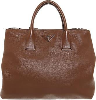 Braun Prada Leder Damen In Handtasche Aus Gebraucht nRqwrpRX