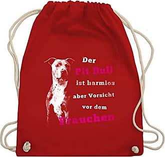 Aber Bag Wm110 amp; Dem Turnbeutel Vorsicht Unisize Harmlos Der Hunde Bull Gym Vor Rot Ist Shirtracer Pit Frauchen RZ6TcYUOy