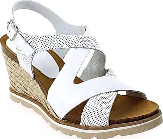 Blanc Femme Nu amp; Coco Et Pour pieds Sandales V0939a Abricot xqF1wTH
