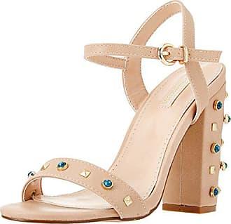 Mujer Sandalo Eu 112760821epbeig 38 Prima T Tira Marrón Con Sandalias De beig Para Donna TwqnqOx8S
