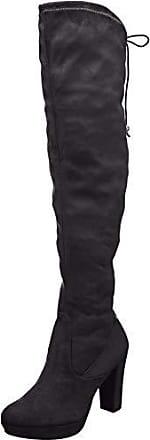 21 Femme Bottes 41 1 25560 Noir Tamaris Du Genou black Au dessus Eu On05nSUqw