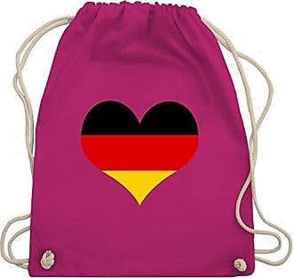 Shirtracer Wm110 Deutschland amp; Klassisch Fuchsia europameisterschaft 2020 Turnbeutel Bag Gym Fußball Unisize Herz O8Oqr1