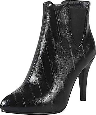 Knoechel Hochzeit Party Pointed 39 Mit Absatz Gr Boots Black Taoffen Asian Damen Buro Stiefel Toe Chelsea c35q4ARjL