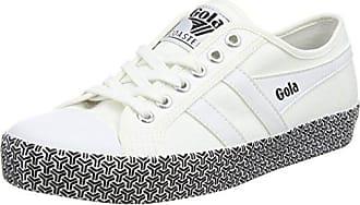 Weiß Eu Gola Sneaker white Metric Damen 36 Coaster xfaqz0FanI