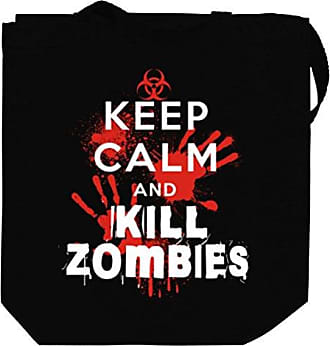 Canvas Calm Tote And 2 Kill Zombies Idakoos Bag Keep xSqO50wY