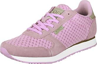 Chaussures 0 Gr Lilac Eu Ydun W Woden Suede Bright Femmes 37 Mesh qHwnv8x