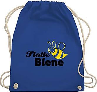 LaufsportFlotte Unisize Turnbeutelamp; Bag Biene Wm110 Gym Royalblau Shirtracer bfyg76