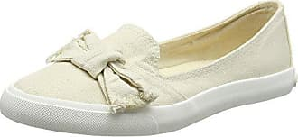 5 Dog Rocket 38 Cassé Femme Plates Blanc Eu Ballerines Vanilla Uk Canvas Clarita beach BxrwSq7x