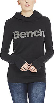 Mujer Capucha Print Para Hoody Negro Bench Small black Bk11179 Corp Beauty XxO7FwcqP