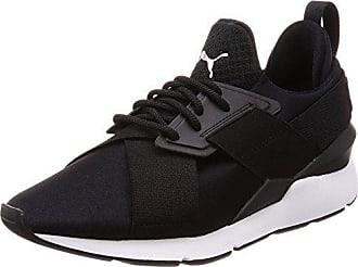 Wns Black Ep White Femme puma Satin 37 Muse Eu Sneakers 5 3 Puma Noir puma Basses qwnRtzWC