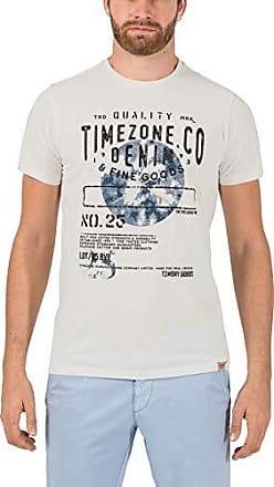 Goods T Hombre shirt Camiseta Denim X White Blanco Para large 0100 Timezone pure Fine amp; qSRxIt