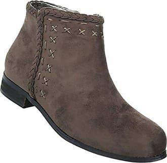 37b9bfb4bd462f Damen Boots Grün Stiefeletten 40 Braun Schuhe Schuhcity24 8dxZvqq ...