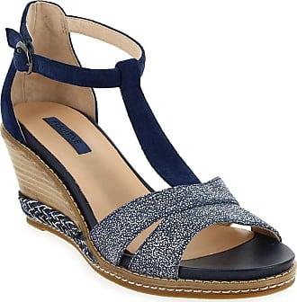 Sandales Bleu pieds Lp5hg38 Femme Fugitive Istra Nu Et Pour AWOZ8zP7