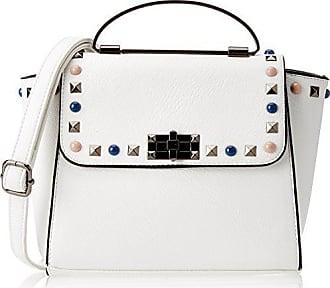 Damen Pansy 11x22x28 white Weiß Bag Swankyswans Centimeters Mini Umhängetasche Satchel 5p8Fqwd