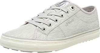 S oliver lt silver Grey Basses Femme Eu 23640 40 Gris Sneakers rrwdRqA