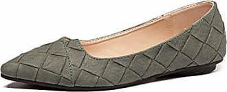 Yuch Flach Schuhe Locker Flache SchuheGrün36 Lässig Kleidung Hundert Frauen Unterseite Mund tQdohrCxBs