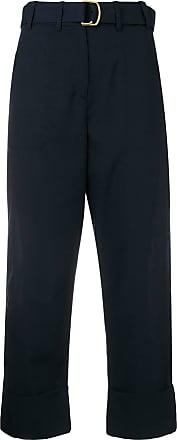 Trousers 2 Oprah Cropped Bleu Pinko tYXwz