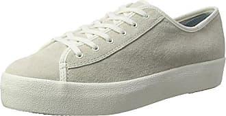 À Beige Suede Wx Lacets Kick Tpl Keds Femme Crème Chaussures qaTwXBx6