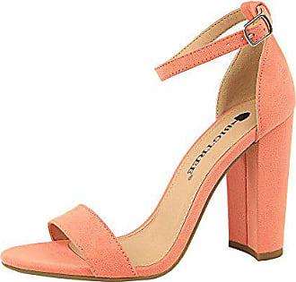 Wortband Heels Nachtclub High Starke Bfmei Größe Einfach Sandalen Ferse farbe Sexy Pink 40 Weiblich wqFxg001B
