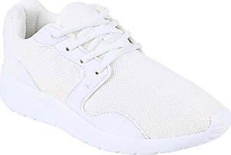 Stiefelparadies Herren 38 Muster Flandell All Übergrößen 141484 Weiss Sneakers Lauf Profilsohle Sport Schuhe Blumen Runners qzMSUGVp